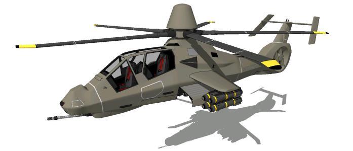 Helicoptero comanche rah - 66