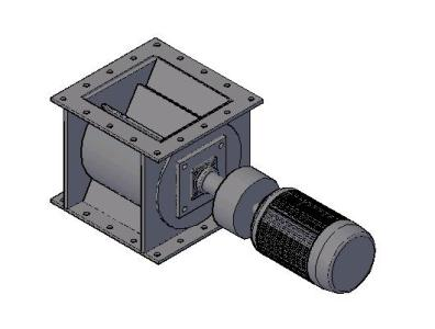 3d rotary valve in AutoCAD | CAD download (329 76 KB) | Bibliocad
