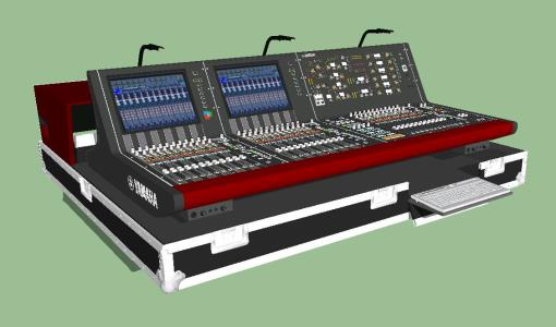 AUDIO CONSOLE - YAMAHA PM10