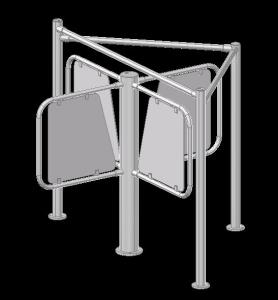 3D security turnstile