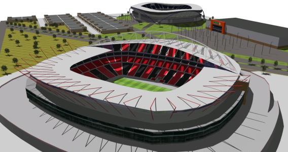 San Armando 3D stadium