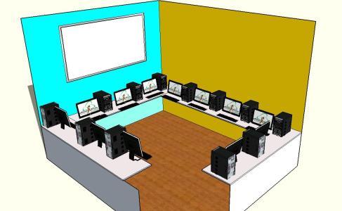 Sala de informatica 3D