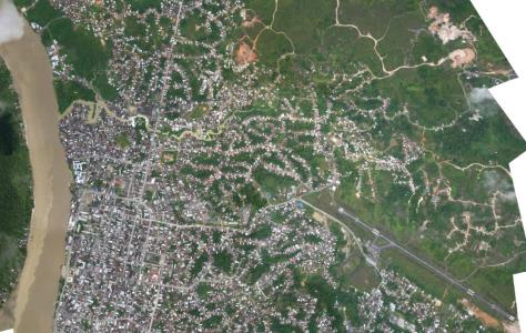 urban town of Quibd in Colombia