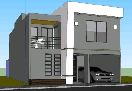 detached house 3D