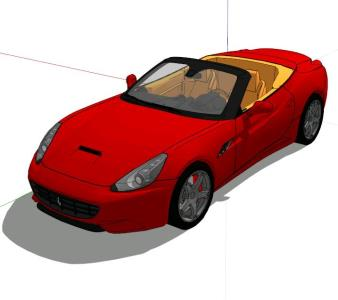 Ferrari California - 3D