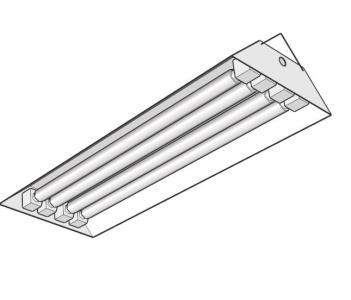 Plafon tubos fluorescentes