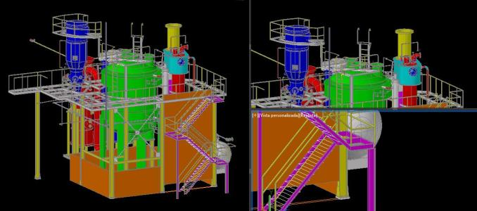 industrial chemical reactor full 3d installation  14 89 mb