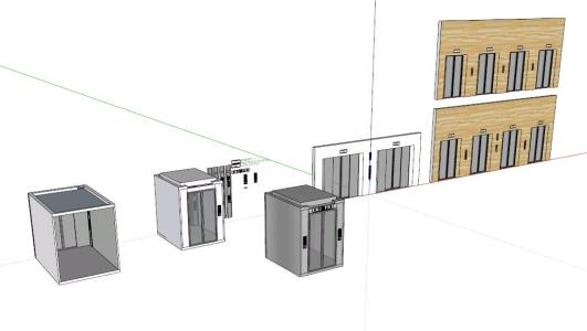 3d Elevator Lift In Skp Cad Download 2 09 Mb Bibliocad