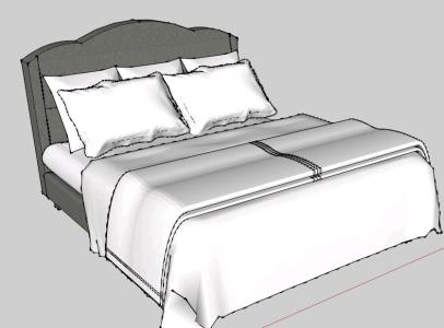 3D two bed spaces