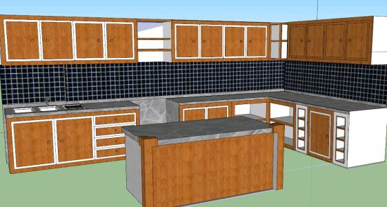 Kitchen furniture - 3D