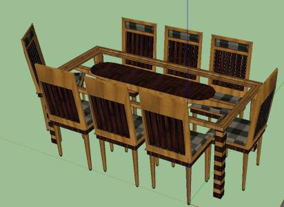 Dining table for 8 person