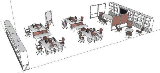 Configuracion de la oficina
