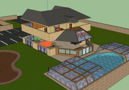 3d House 2 floors