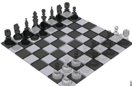 Chess - 3D game