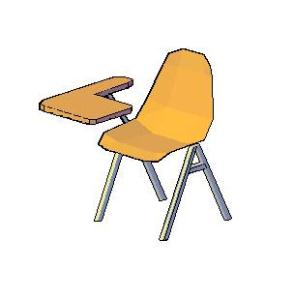 School desk or chair