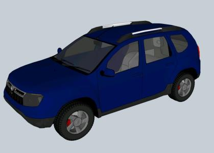 Renault Duster 3d