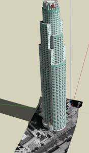 The US bank 3D TORRE