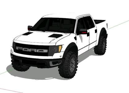 FORD F - 150 SUPERCREW RAPTOR