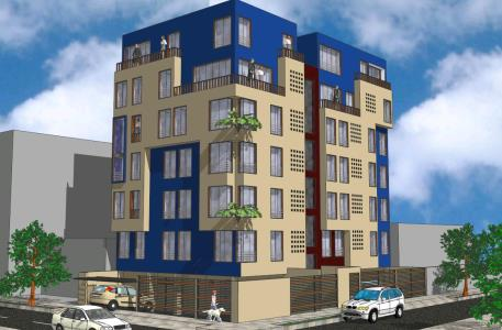 3D multifamily building