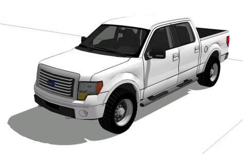 Camioneta ford; ford f150 - 3D