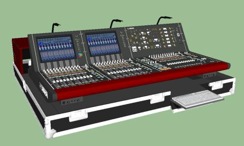 AUDIO CONSOLE YAMAHA RIVAGE