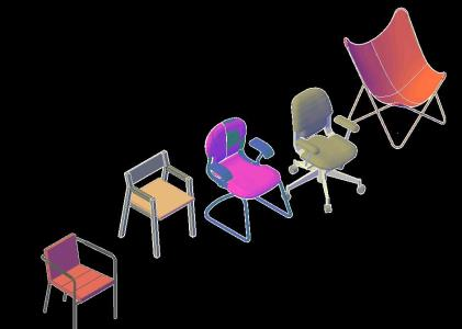 CHAIRS IN 3D