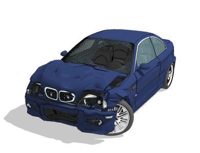 Auto BMW M3 E46