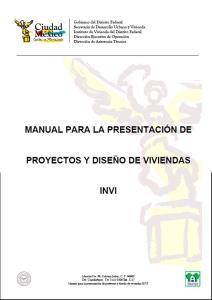 Manual de presentacion de planos