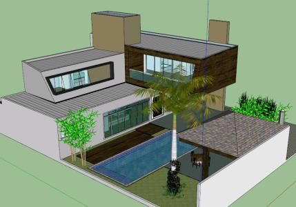 Modern House Project - 3D