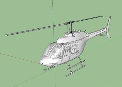 Helicoptero 3D
