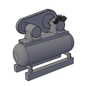 3d engine pump