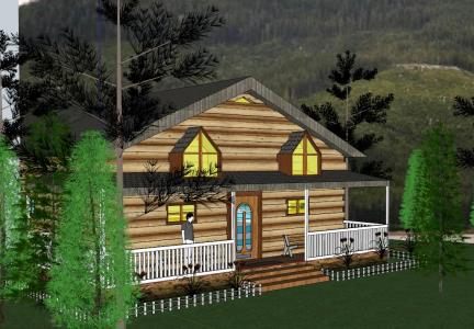 Country house 3D