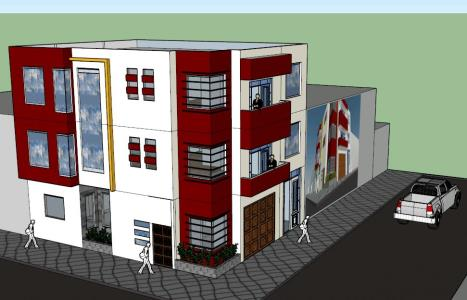 3d multifamily housing