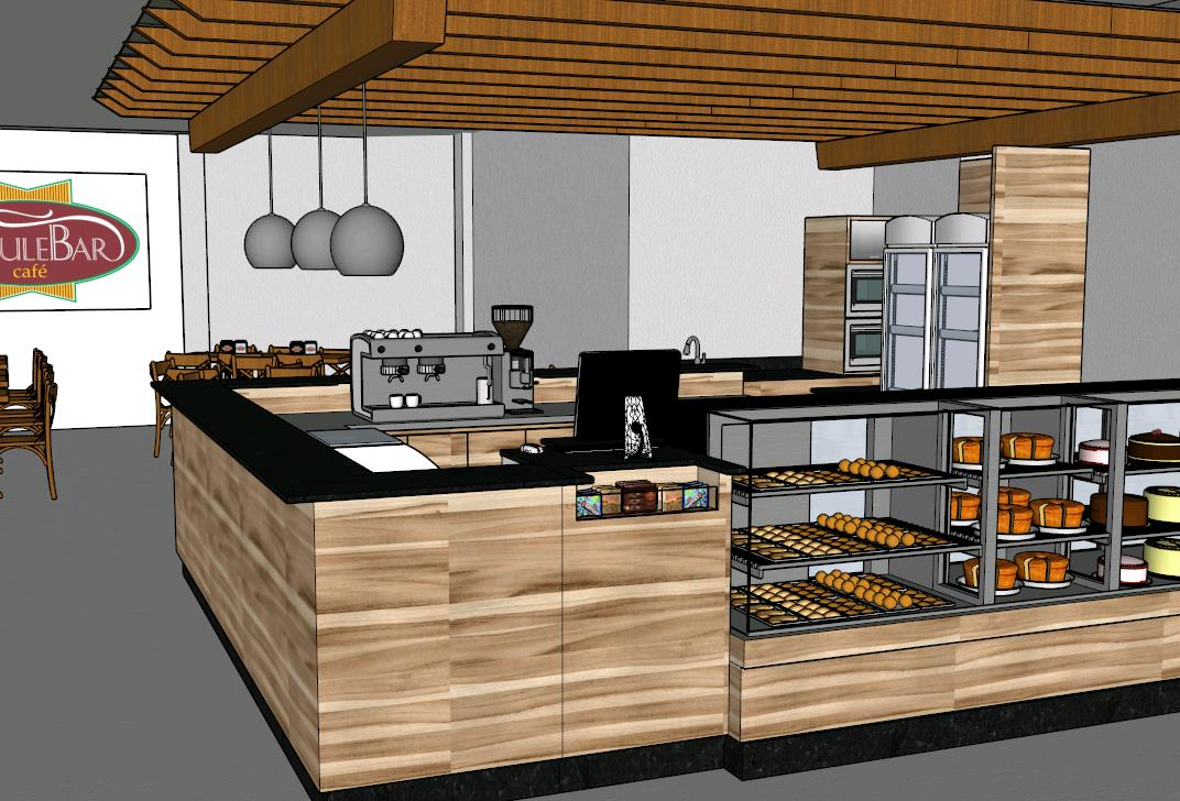 Commercial Cafe Kitchen Design