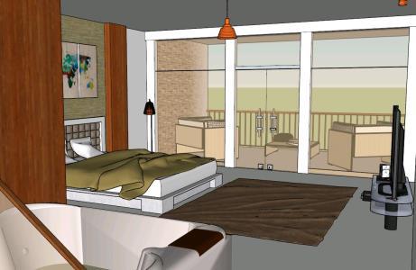 5 Stars Hotel Room In Skp Cad Download 12 63 Mb