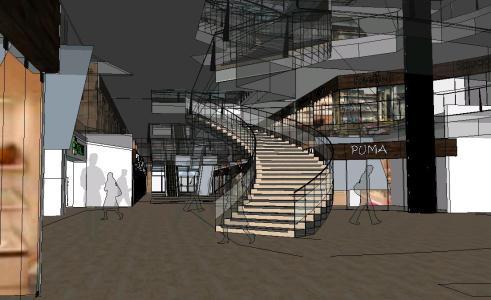 3d shopping center