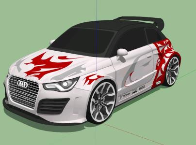 3d Tuning Audi A1