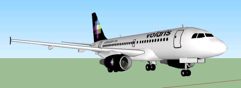 Trailer A319 Volaris(airbus)