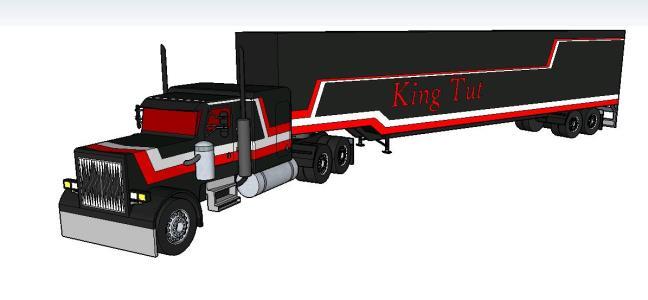 Pterbilt truck yTrailer