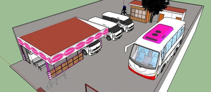 Small Van Terminal
