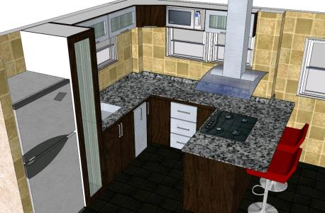 Cocina 3d bibliocad for Software cocinas 3d