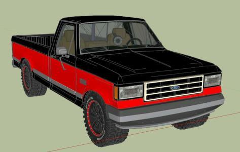 FORD TRUCK 150 - 3D