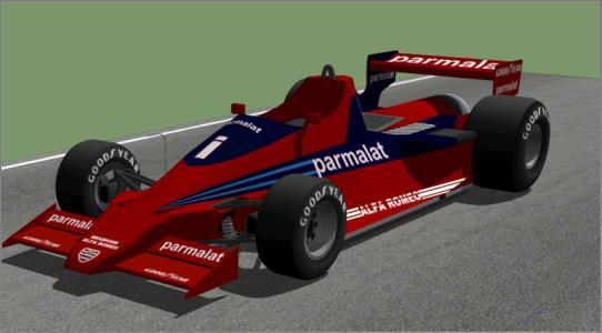 Brabham BT46 - auto race