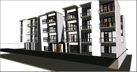 5 levels multifamily project