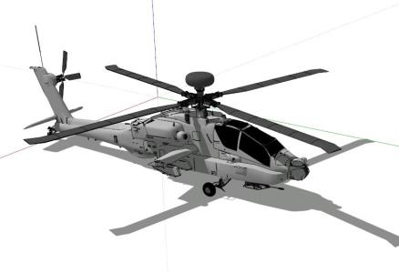 Pave Low helicopter MH - 53 - 3D