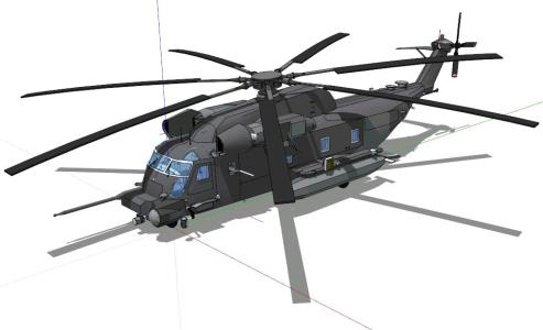 Pave Low helicopter 3D