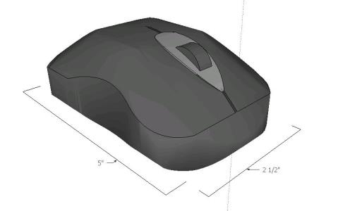 Wireless mouse. Wireless cursor.