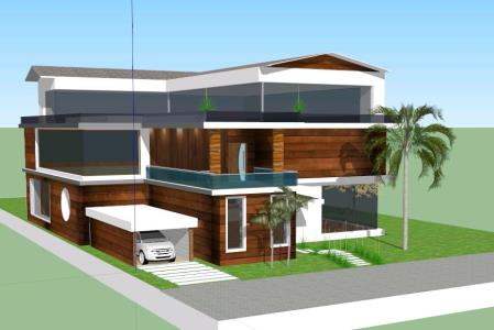 Country house 3 floors - 3D