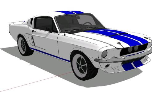SHELBY MUSTANG GT 500 - 3D
