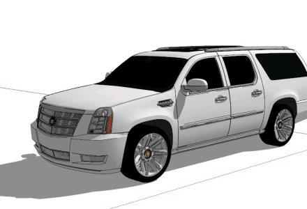 Cadillac Escalade 3D